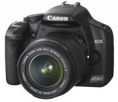 CANON EOS 450D plus EF-S 18-55mm f3.5-5.6 IS Lens