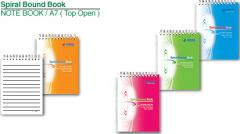 Note Book (Top Open) 60 sheets