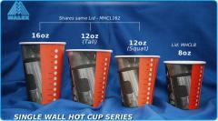 Single Wall Hot Cups