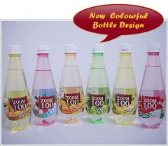 Carbonated Fruity Flavour Drinks