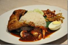 Nasi Lemak Ayam Goreng Herba