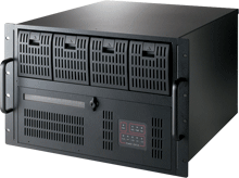 7U 20-Slot Rackmount Chassis with 6 Hot-Swap