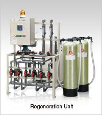 Onsite Ion Exchange Regeneration Unit