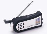 Wind-up portable radio