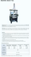 Aberlink Manual/CNC CMM Axiom Too