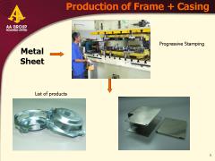 Frame & Casing