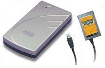 Pocket-Sized 20GB Hard-Disk, External PCMCIA or