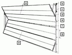 Foldaway Industrial Door