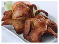 Fried Quail Bird