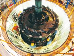 Hydraulic turbine generator