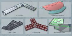Integrated Design Of Flat Slabs, Foundation Mats