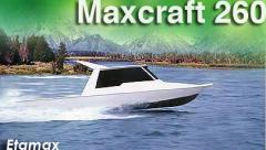 Maxcraft 260 Fishing Boat