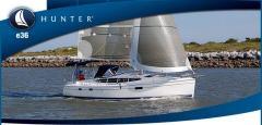 The Hunter e36 stunning cruiser