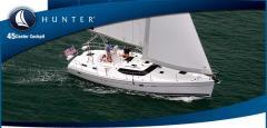 Hunter 45 Center Cockpit Boat