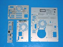 Rear Panel for Audio Component