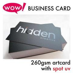 260gsm Art Card With Spot UV Card