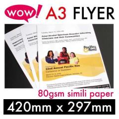 A3-80gsm Simili Paper (1 side - 1000 QTY)
