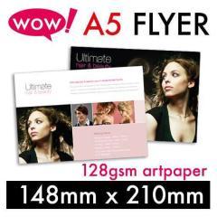 A5-128gsm Artpaper Flyer