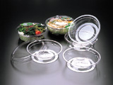 Salad Container NOA CRYSTAL-V