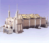 Inclined disk dryer