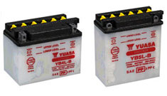 Motorcycle Conventional Batteries
