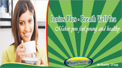 Ionins Plus - Breath Well Tea