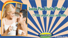 Ionins Plus - Vitality Plus Tea