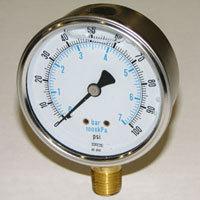 "Global Water - Pg100 2-1/2"" Liquid Filled"