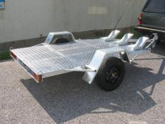 Large Motorcycle Trailer