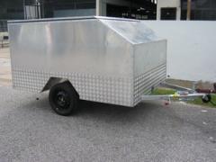 Enclosed Motorcycle Trailer