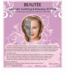 Lavender Soothing & Relaxing 3D Mask
