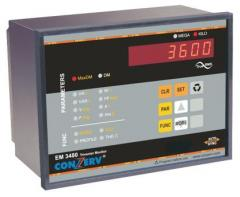 Measurement Devices EM 3360 , EM 3480 , EM 3460