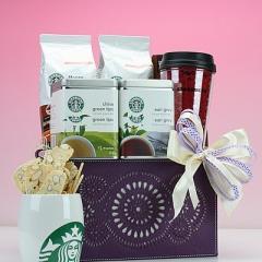 Starbucks® Break Time Gift Basket