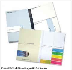 Combi ReStick Note Magnetic Bookmark