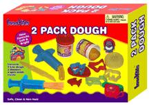 "Roll ""n"" stamp dough set"