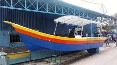 Penang Boat Open cabin