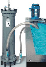 In-Tank Pump/Outside Filter System