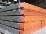 Pallets with 45 degree corner cut