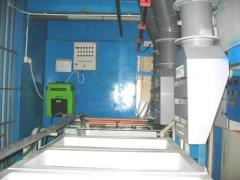 Gas Scrubber System (Suction Hoods) for Laser