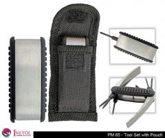 Tool Set with Pouch
