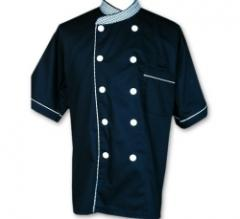 Chef Uniform with Chequeres Design