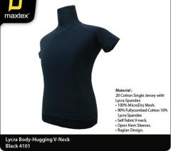 Lycra Body Hugging V-Neck