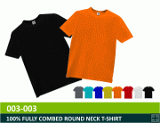 Round Neck T-Shirt / Fully Combed