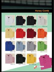 Honeycomb Collar T-Shirt