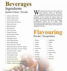 Beverages Ingredients