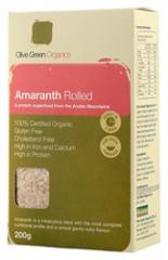 Olive Green Organic Amaranth Rolled (200g)