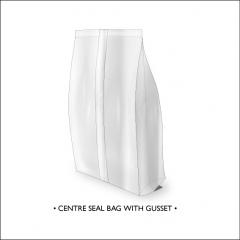 Centre Seal Bag with Gusset