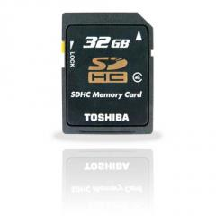 Toshiba SDHC High Speed Card