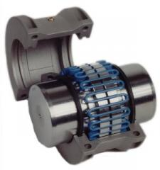 V-section spring coupling