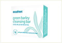 Ecofren Green Barley Cleansing Bar